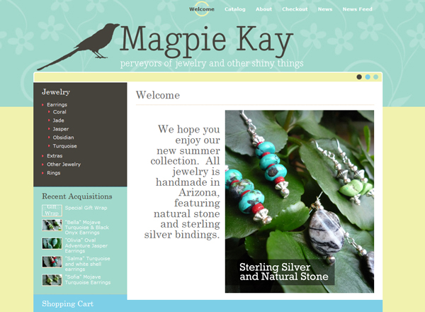 Magpie Kay - Natural Jewelry