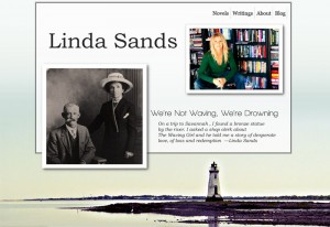 Linda-sands.com website