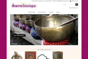 Dharma boutique- Retail Website