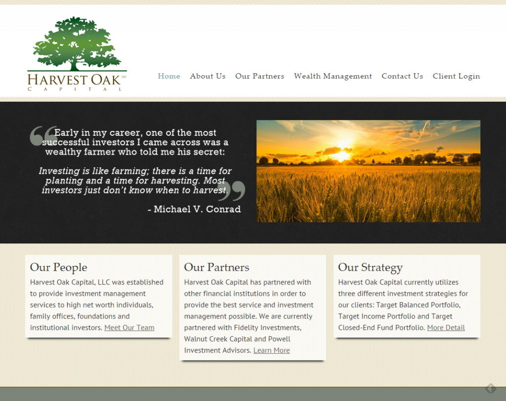 Harvest Oak Capital   Investment Advisors, Atlanta GA (2)